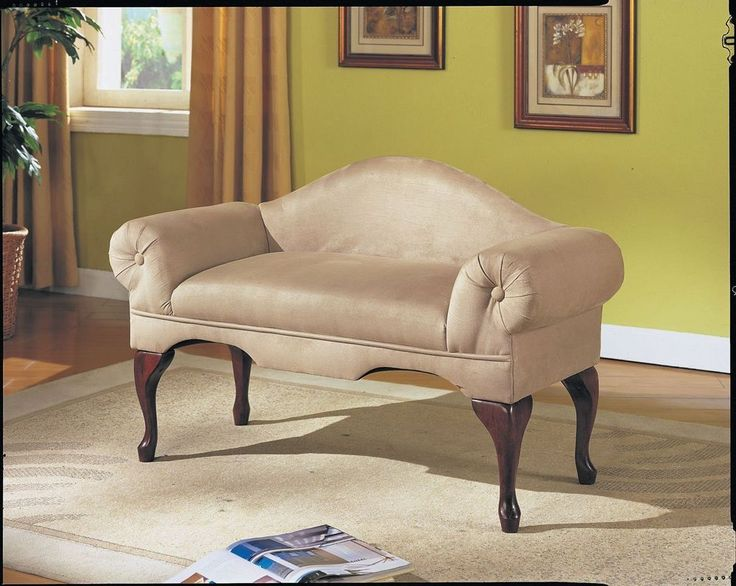 Rolled Arm Bench Loveseat Chaise W Back Bedroom Lounge Living Room Foyer  Chair  Traditional52 best Serene Bedroom Ideas images on Pinterest   Bedroom ideas  . Loveseat For Bedroom. Home Design Ideas
