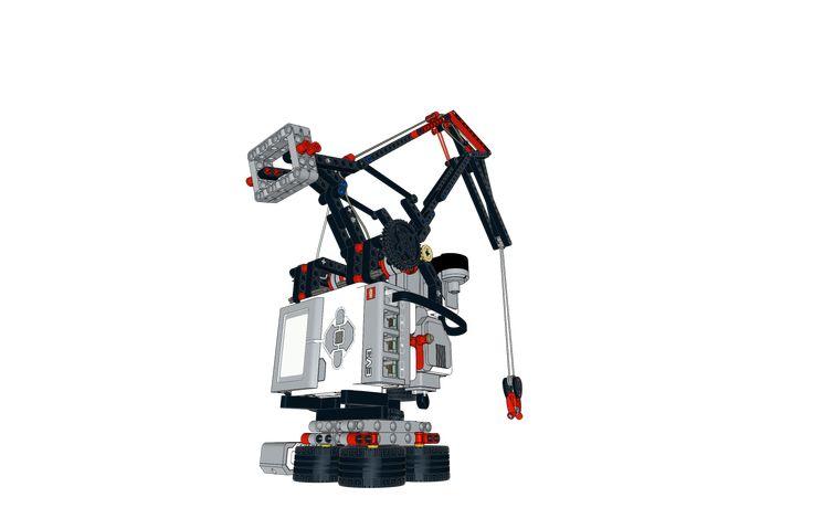 Crane CityCAMP Mindstorms EV3