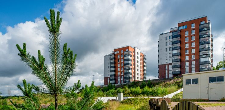 Appartment complex in the centr of Vyborg. SRV Development