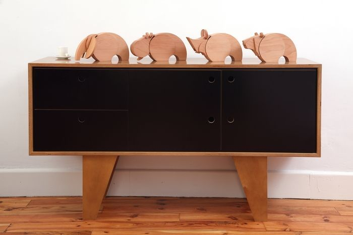 Les mastodontes en bois de Wodibow