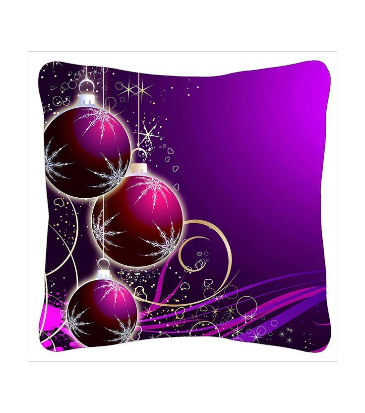 FashionSupreme - Pernă cu față de pernă cu imprimeu de Crăciun - Pentru casă - Perne - Sofi - perne decorative cu motive de Crăciun. Haine şi accesorii de marcă. Haine de designer.