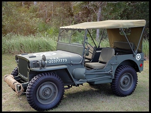 1942 Ford Military Jeep (had a 43 a few years ago)