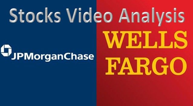 Stocks Analysis Video for JPM and WFC with All the important Trading Levels and Zones for Week 16 Jan 2017 - My Trading Buddy Markets Analysis Magazine