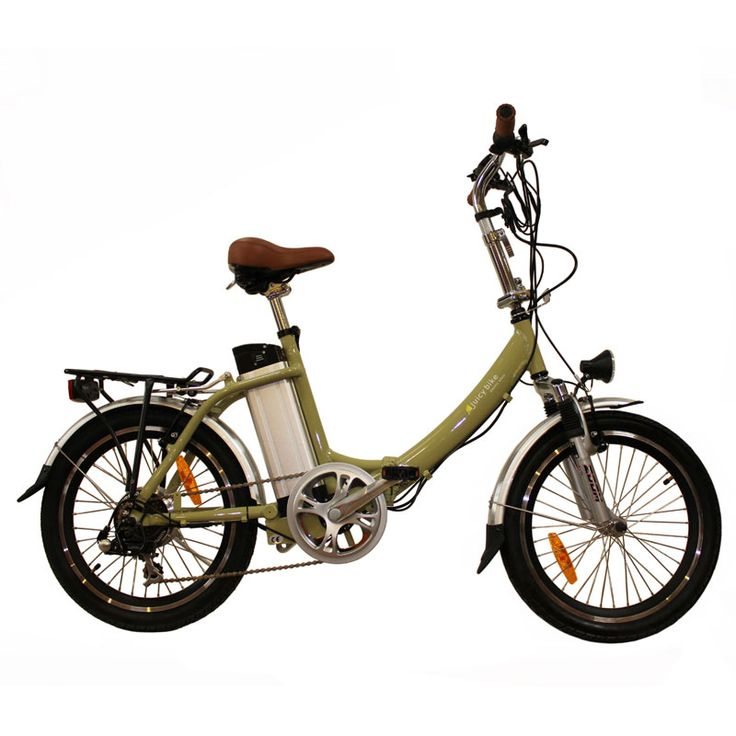 Juicy Electric Bike - Compact Click - Olive