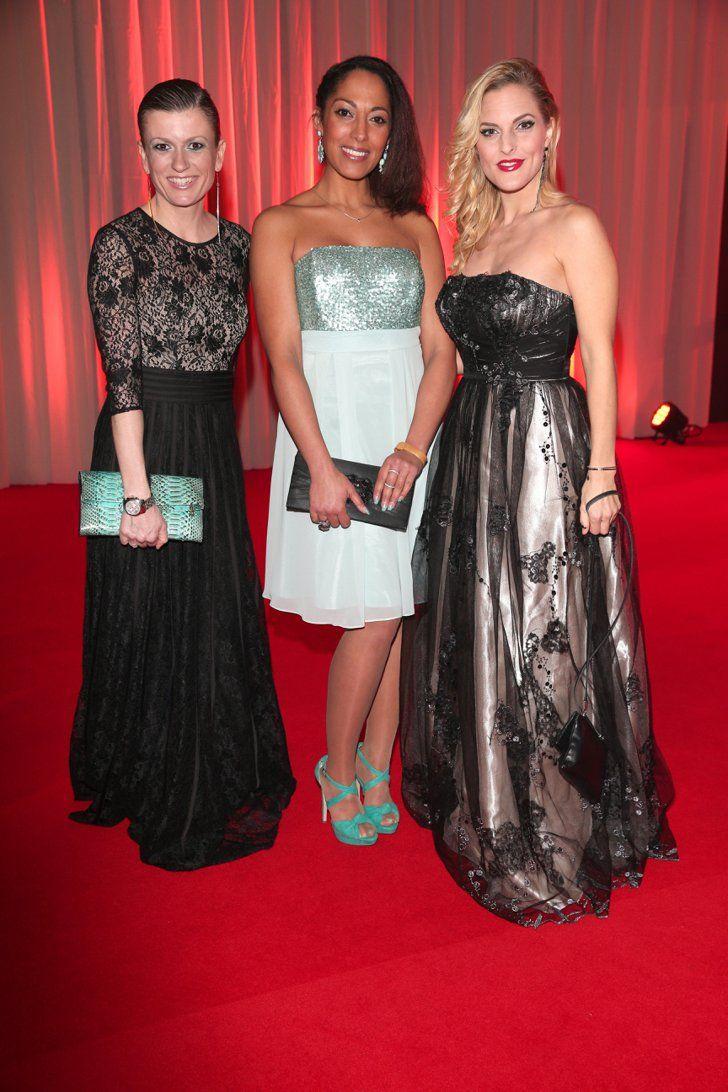 Pin for Later: Seht alle Stars bei der Goldenen Kamera! Lucy Diakovska, Jessica Wahls und Sandy Mölling