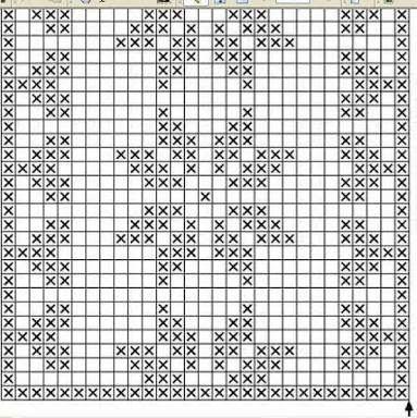 graficos de caminhos de mesa em croche com rosetas diretamente na peça - Pesquisa Google