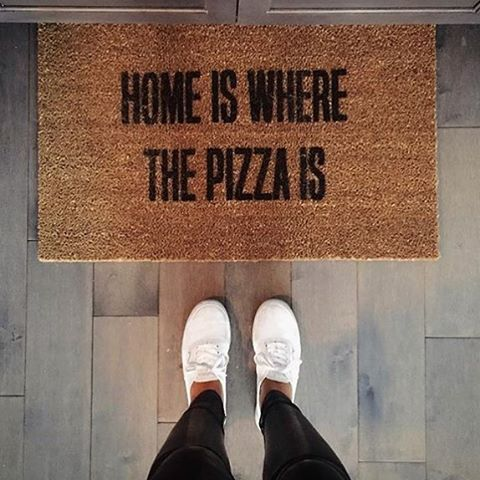 Pizza Doormat