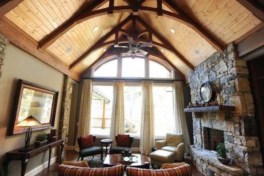 Amicalola Cottage Home Plans Rustic Style Amicalola