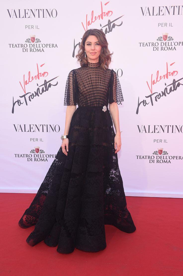 Sofia Coppola made her debut as a director of opera of 'La Traviata' at Teatro Dell'Opera di Roma.on May 22th, 2016.