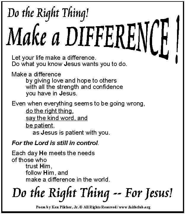 do the right thing make a difference quotes pinterest - Jobs That Make A Difference In The World