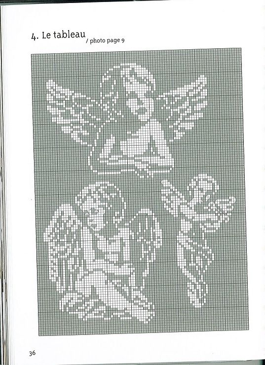 Gallery.ru / Photo # 30 - Anges Motifs de broderie traditionnelle et au point de croix - anfisa1