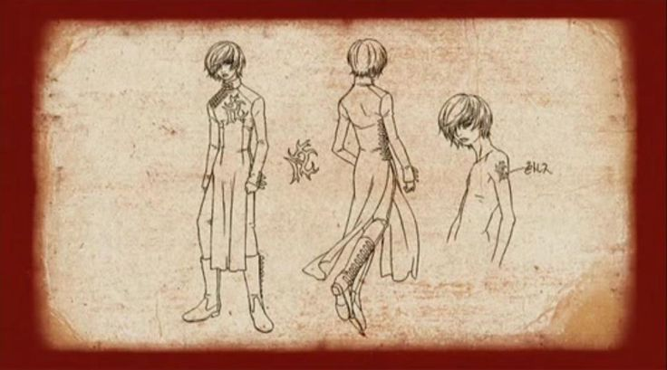 Novem  - Gilgamesh Anime - Official Concept Arts Screens