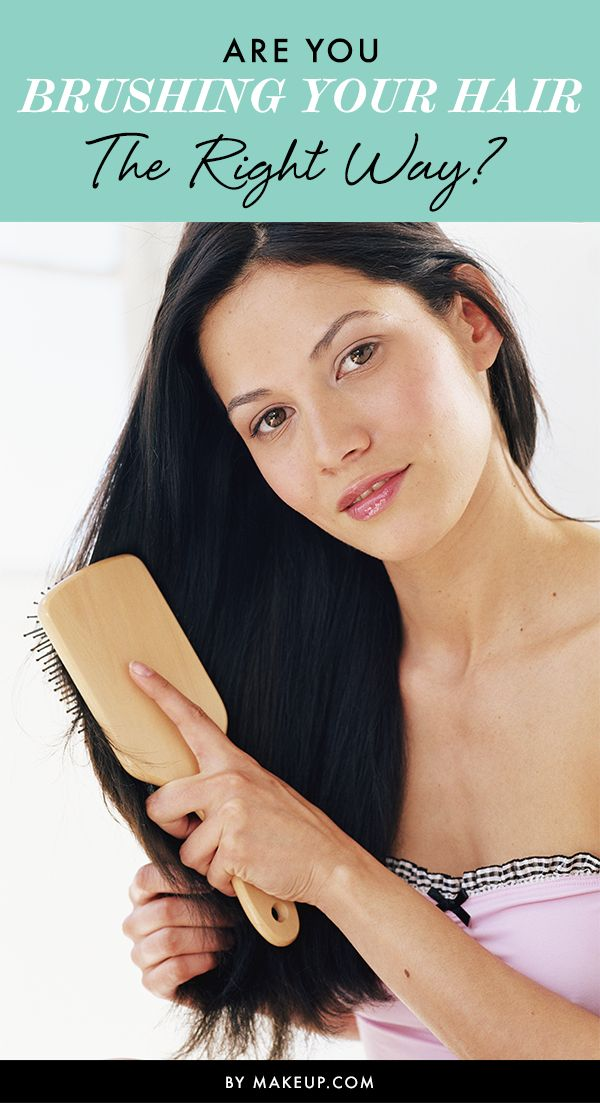 Are You Brushing Your Hair the Right Way?