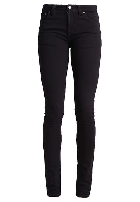 Nudie Jeans LIN - Slim fit jeans - black - Zalando.no