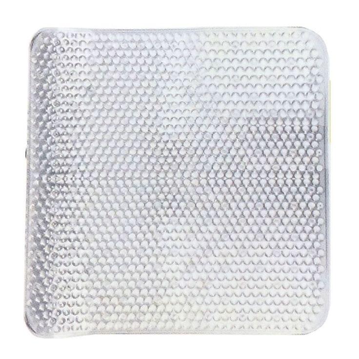 Non Slip Sabichi Strong Clear Square Modern Shower Mat Anti Slip Bathroom Matt