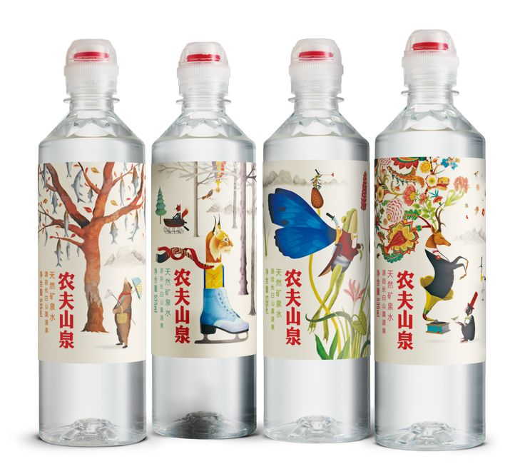 Nongfu Spring's Bottled Water: Natural Drinking and Mineral Water
