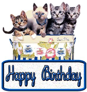 """Free Happy Birthday Song by cats   Add to Your """"About Me"""" or"""