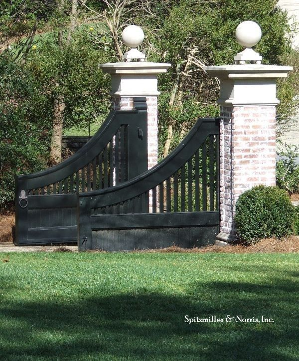 89 best images about driveway pillars on pinterest entry for Best driveway gates