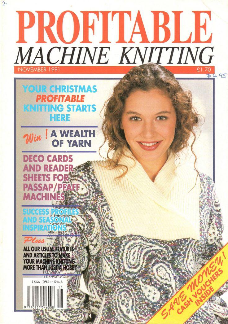 Profitable Machine Knitting Magazine 1991.11 Free PDF Download 300dpi ClearScan OCR