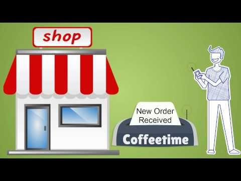 Coffee Time App Animated Explainer Video
