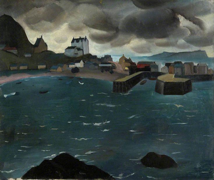 """""""Mallaig"""" by William Gillies, 1928"""