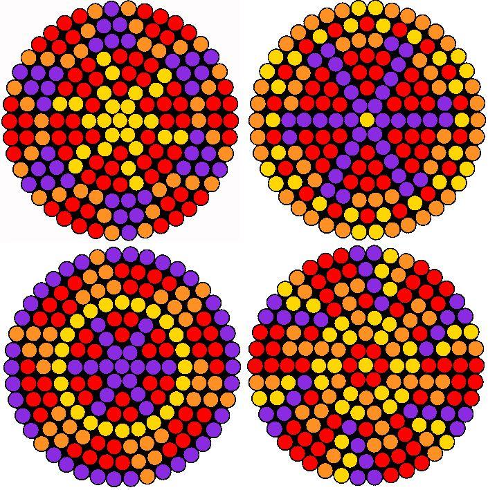 Creating Hama bead Rangoli patterns for Diwali