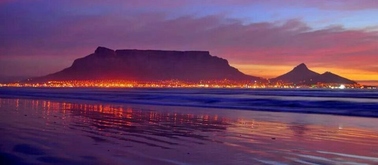 Evening in Cape Town