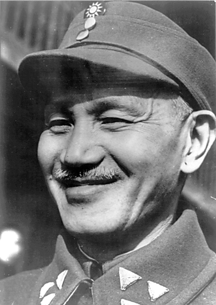 Chang Kai-Shek Leader of the Nationalist Government of China (Kuomintang)