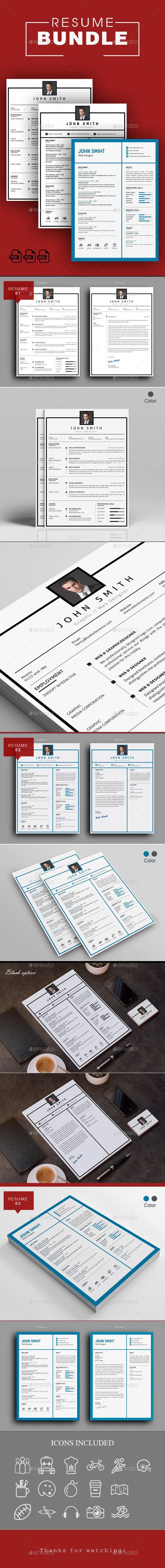 Resume Word Bundle #cv doc #resume set  • Download here → https://graphicriver.net/item/resume-word-bundle/20454251?ref=pxcr