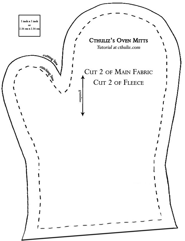 Sew your own oven mitts in 10 easy steps | Cthuliz628 x 81678.4KBcthuliz.com