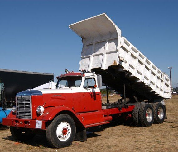 International Harvester Rdf 405 Dump Truck Big Trucks Trucks International Truck