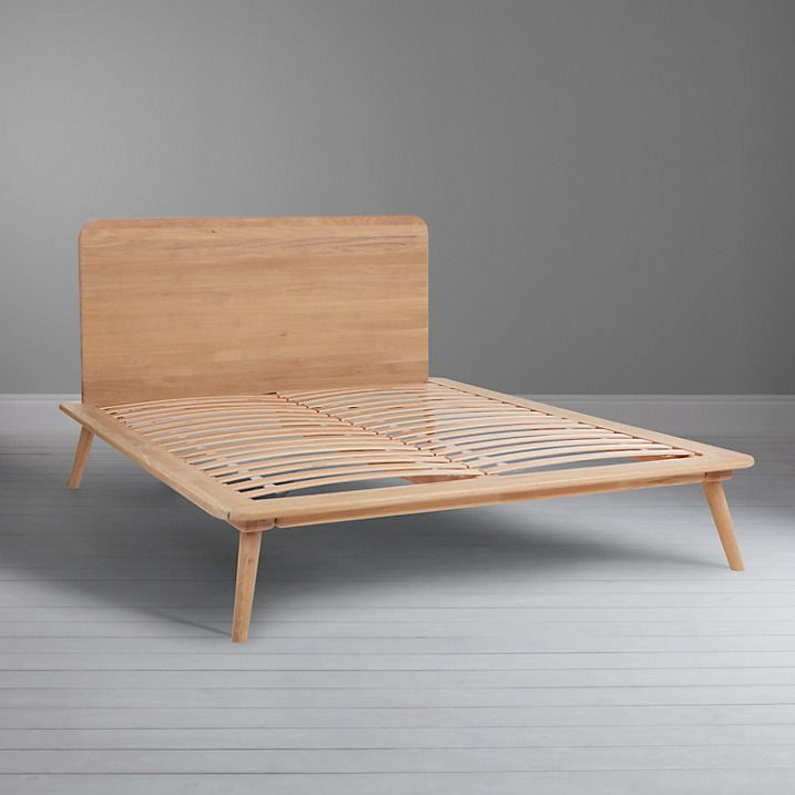 Buy John Lewis Viva Bedstead, Double, Oak Online at johnlewis.com