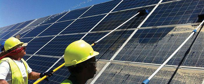Diy Solar Panel Cleaning And Washing Diy Solar Panel Solar Panels Diy Solar