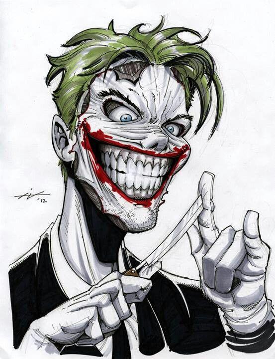 Les 142 meilleures images du tableau joker sur pinterest - Le joker dessin ...