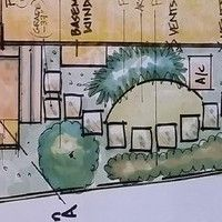 Landscape Design samples - gallery of landscape design drawings, have your own landscape plan created for you today!