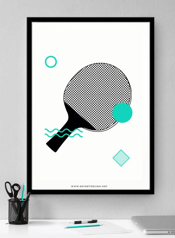 Revert Design - Poster Artwork by Trevor Finnegan