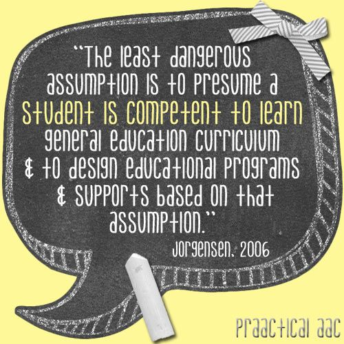 22 best Presuming Competence! images on Pinterest Speech therapy - assume and presume