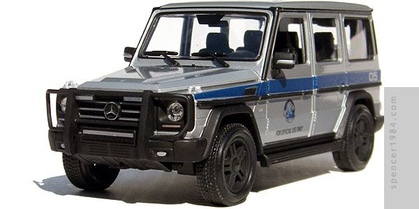 Mercedes Benz G550 From Jurassic World Autos