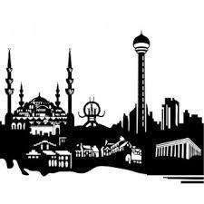 istanbul silüeti sticker ile ilgili görsel sonucu