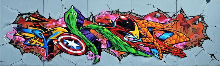 Graffiti Heroes by Soker