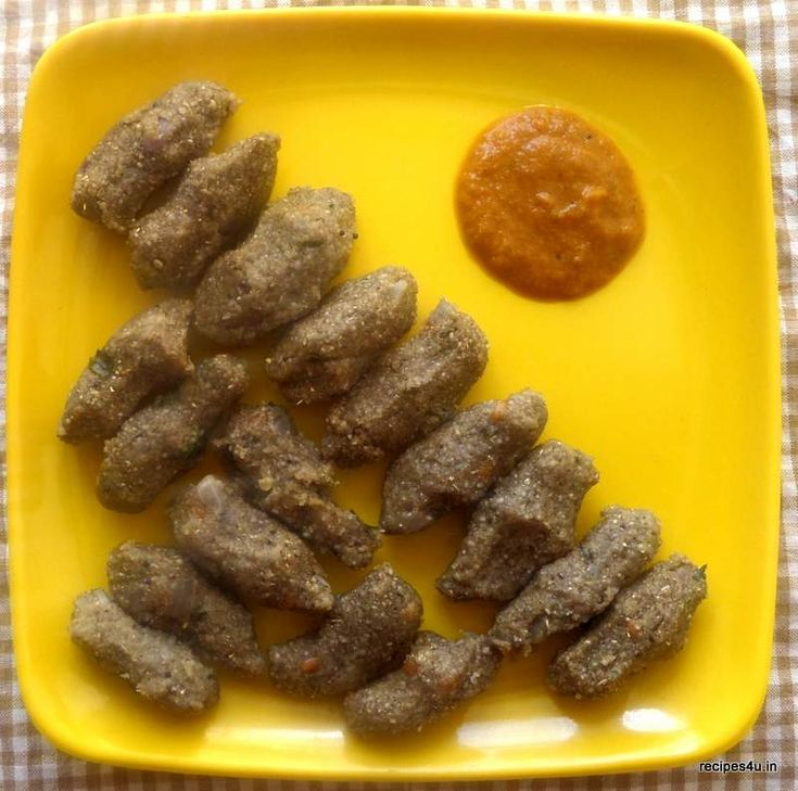 Kambu Kozukattai or Pearl Millet Dumplings