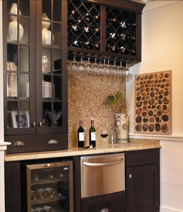 Wet Bar Ideas Gallery: 49 Best Images About Basement And Bar Ideas On Pinterest