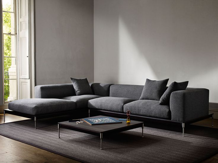 Savile Modular L Shape Sofa   Charcoal. David Linley. | Living Room |  Pinterest | Living Rooms, Sofa Furniture And Room Part 37