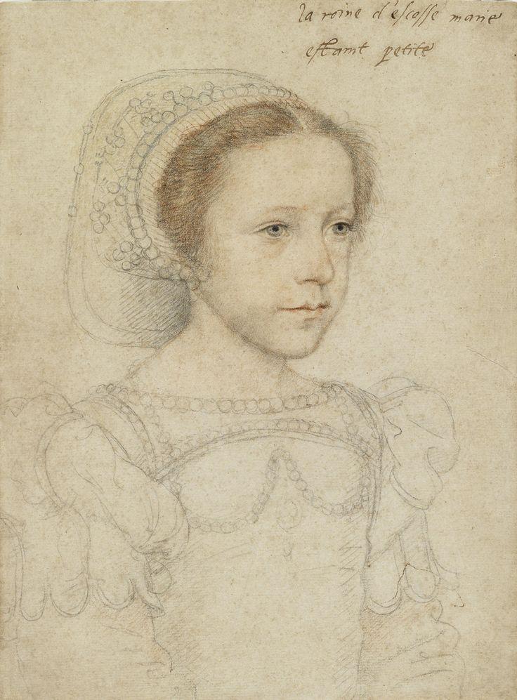 Francois Clouet, Portrait of Mary Queen of Scots, c.1549