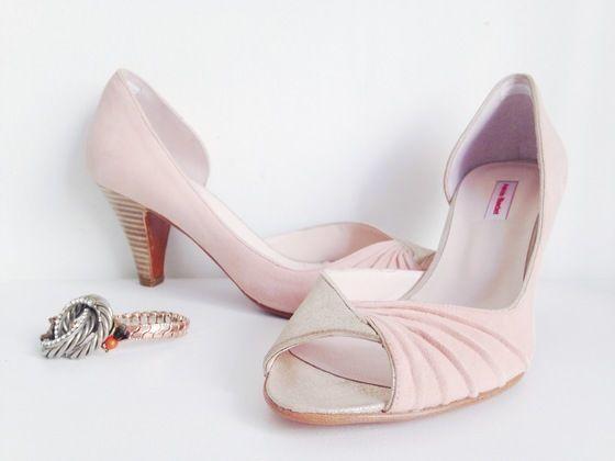 love wedding shoes addict mariage  patricia blanchet chaussures Escarpins MANDELA 41 rose poudré