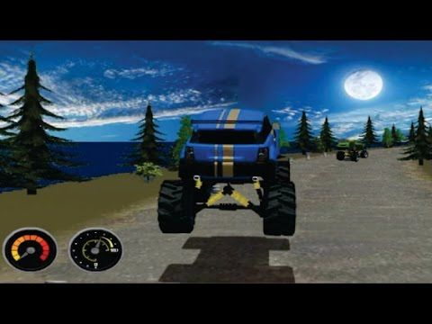 Monster Truck Racing in Canada | Monster Trucks for Kids games | Video f...