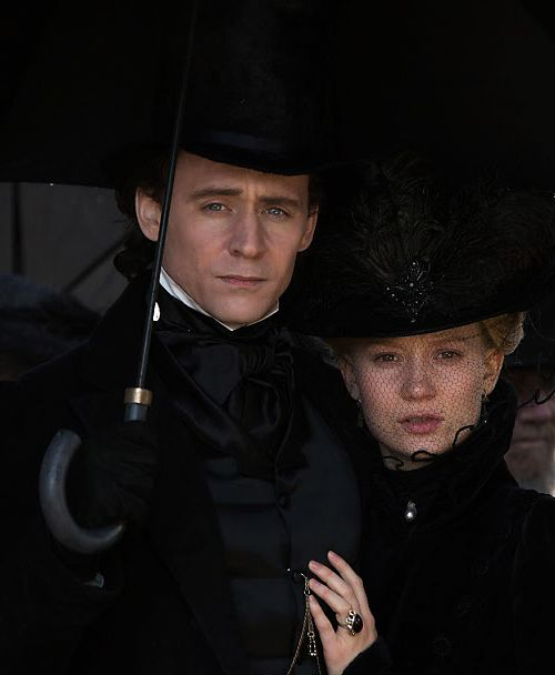 The stunning costumes at the heart of Crimson Peak mirrored Guillermo del Toro's sculptural visions of the film. Source: http://crimsonpeakmovie.tumblr.com/post/129175161888/the-stunning-costumes-at-the-heart-of-crimson-peak