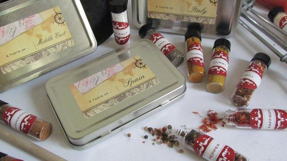 Travel Kit Spices of the World Travel to France by InNonnasKitchen, $14.99