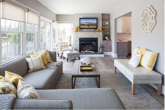 Family Room Design Ideas With Corner Fireplace Smallroomdesign Rectangular Living Rooms Long Living Room Layout Long Narrow Living Room