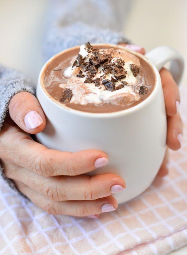 Keto Hot Chocolate No Dairy No Sugar In 2020 Healthy Desserts Easy Is Almond Milk Healthy Low Carb Recipes Snacks